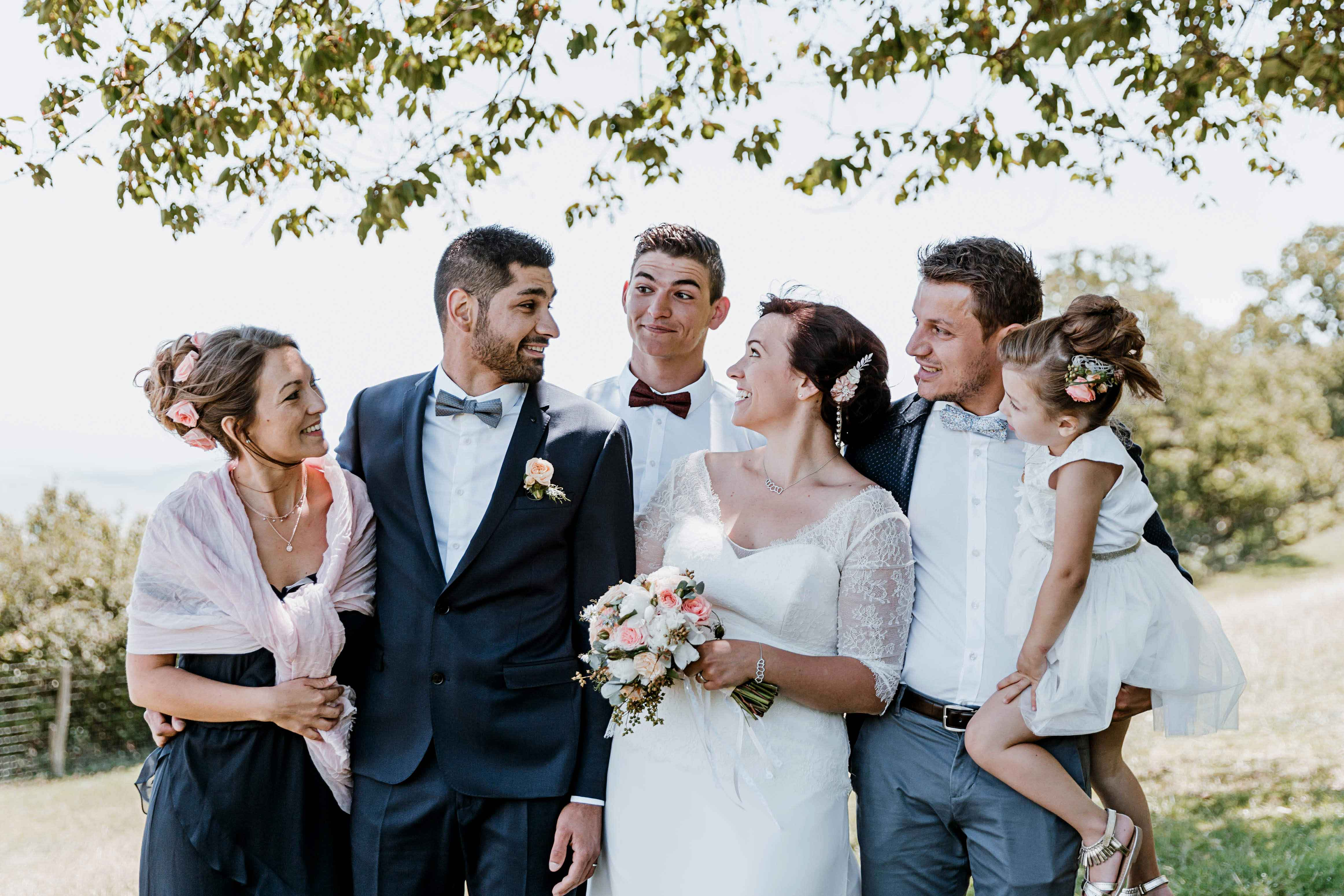 photographe beaujolais lyon mariage famille photo groupe