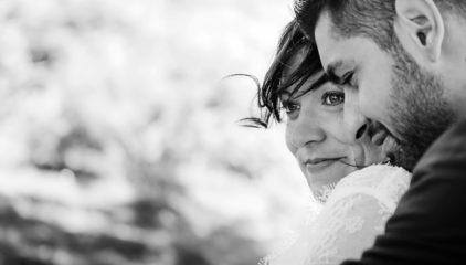 Mariage au fut d'avenas dans le beaujolais