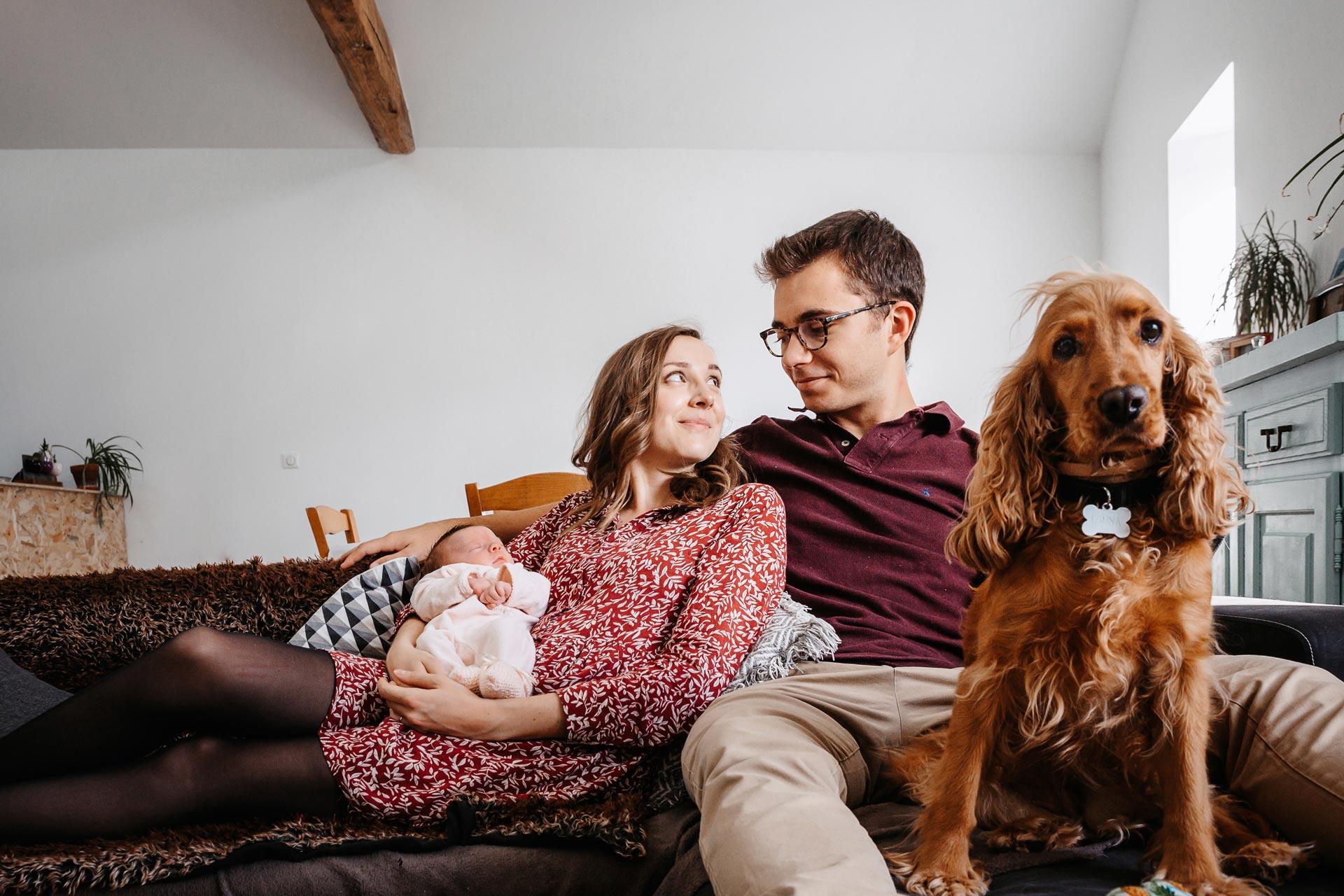 laurine walger photographe naissance mâcon chien