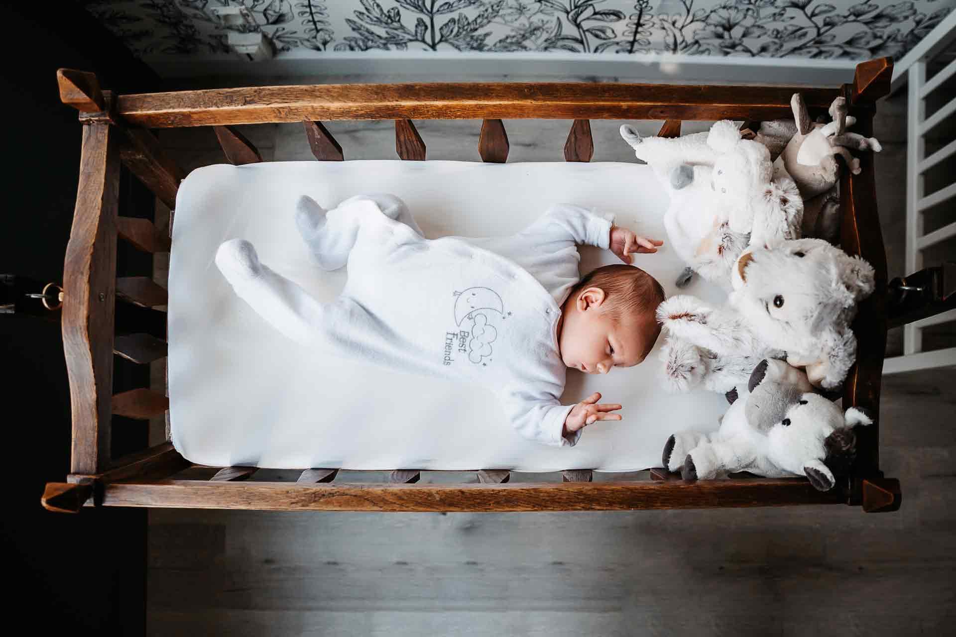 photo bébé lit mâcon