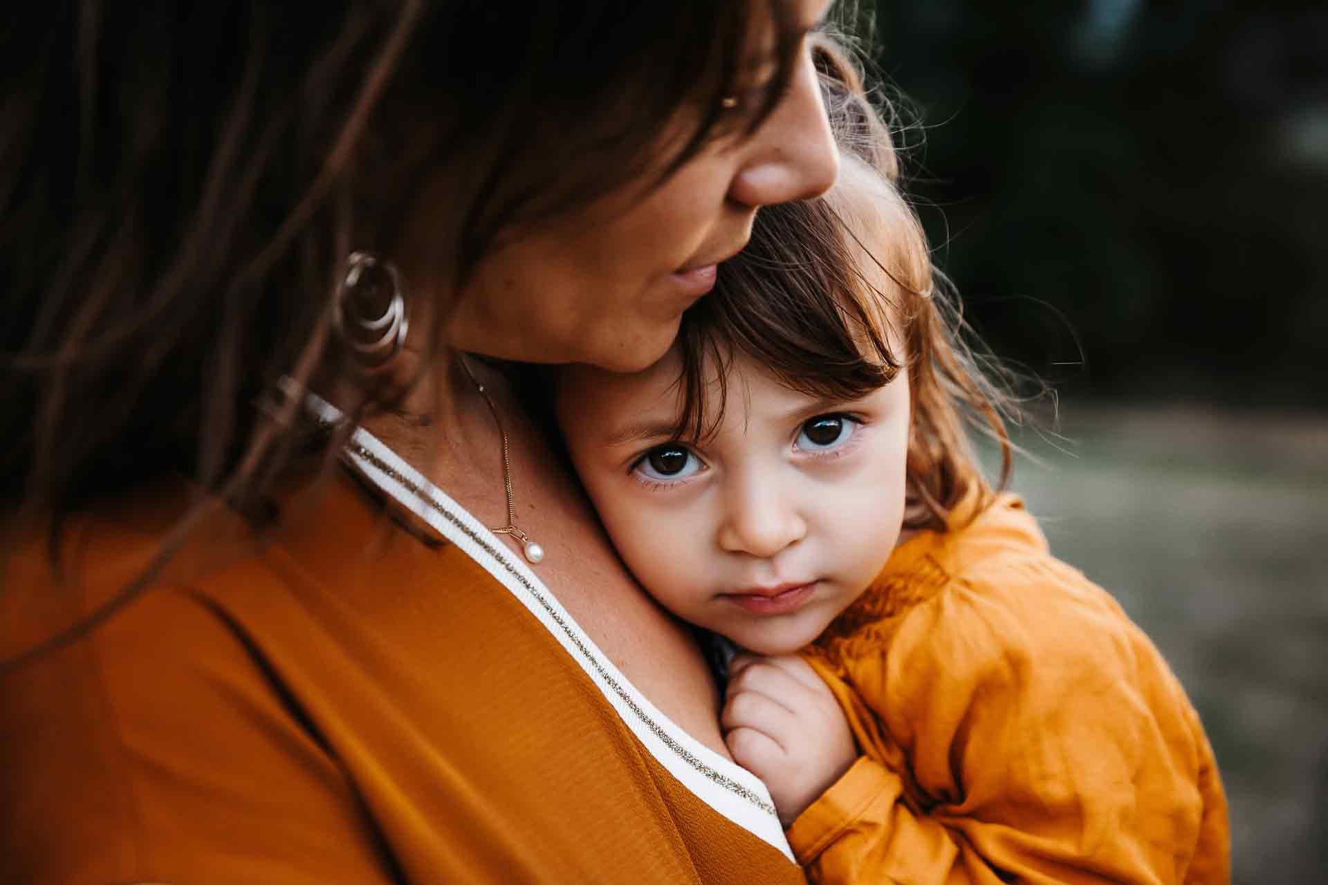 photo de famille laurine walger mâcon maman petite fille