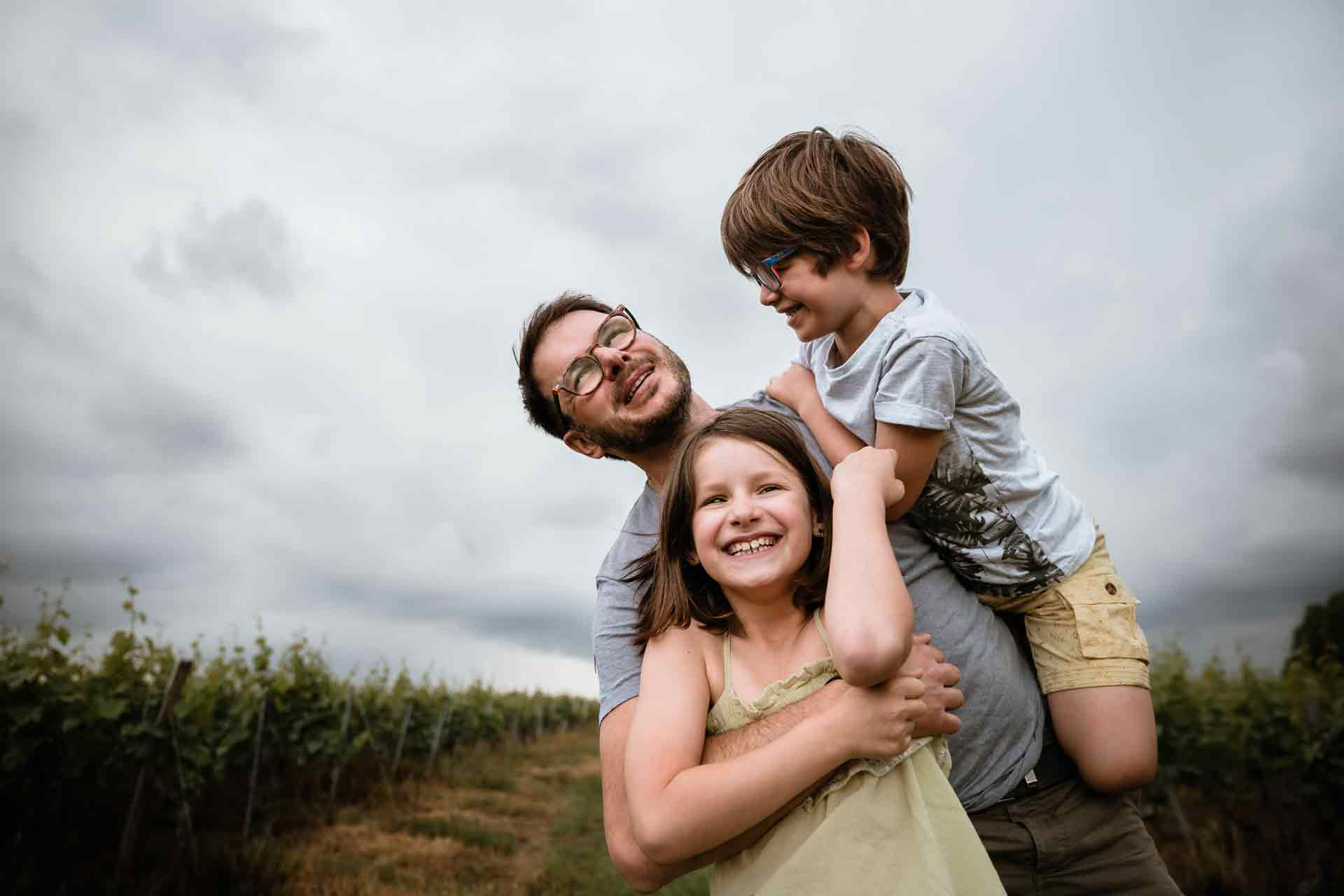 photo de famille orage mâcon laurine walger