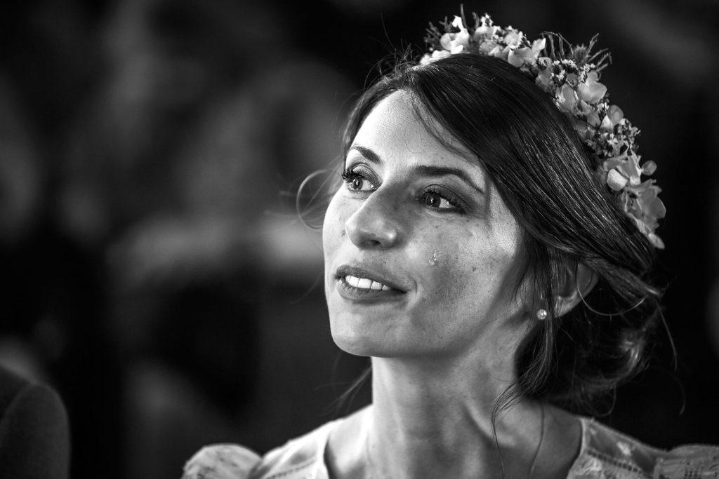 laurine walger photographe lyon mariage mariée pleure