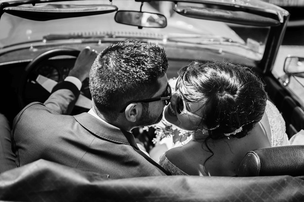 voiture mariage laurine walger photographe lyon