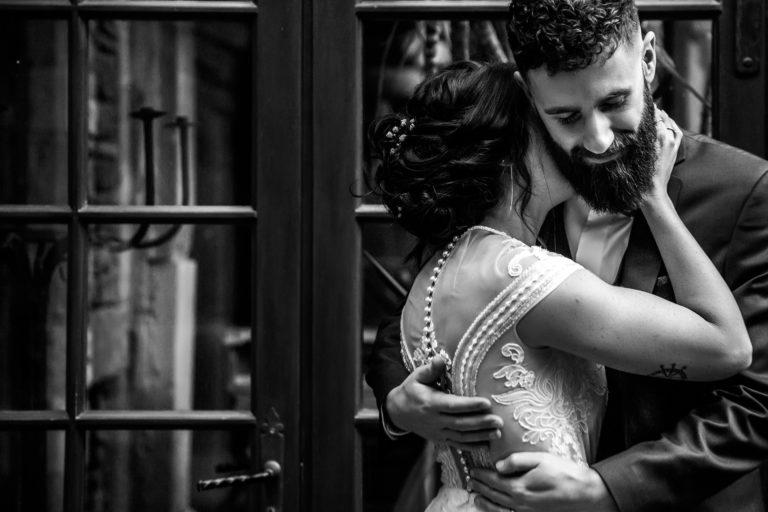 Mariage à la ruisselière couple