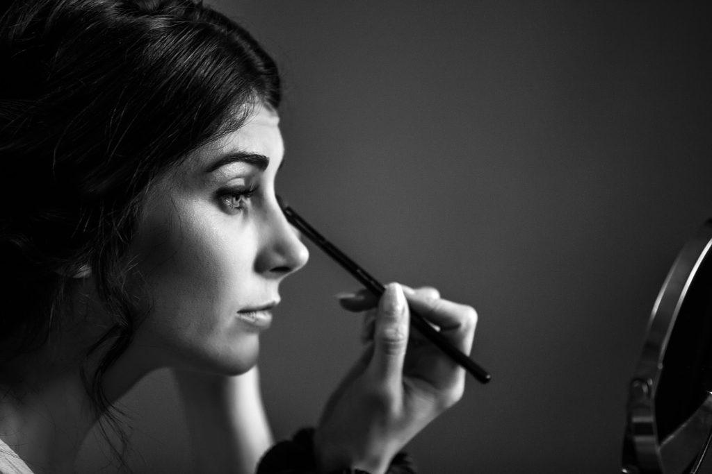 Mariage à la ruisselière maquillage