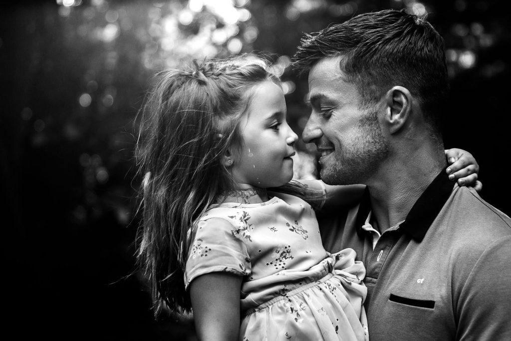 photo famille papa et sa fille pont de veyle