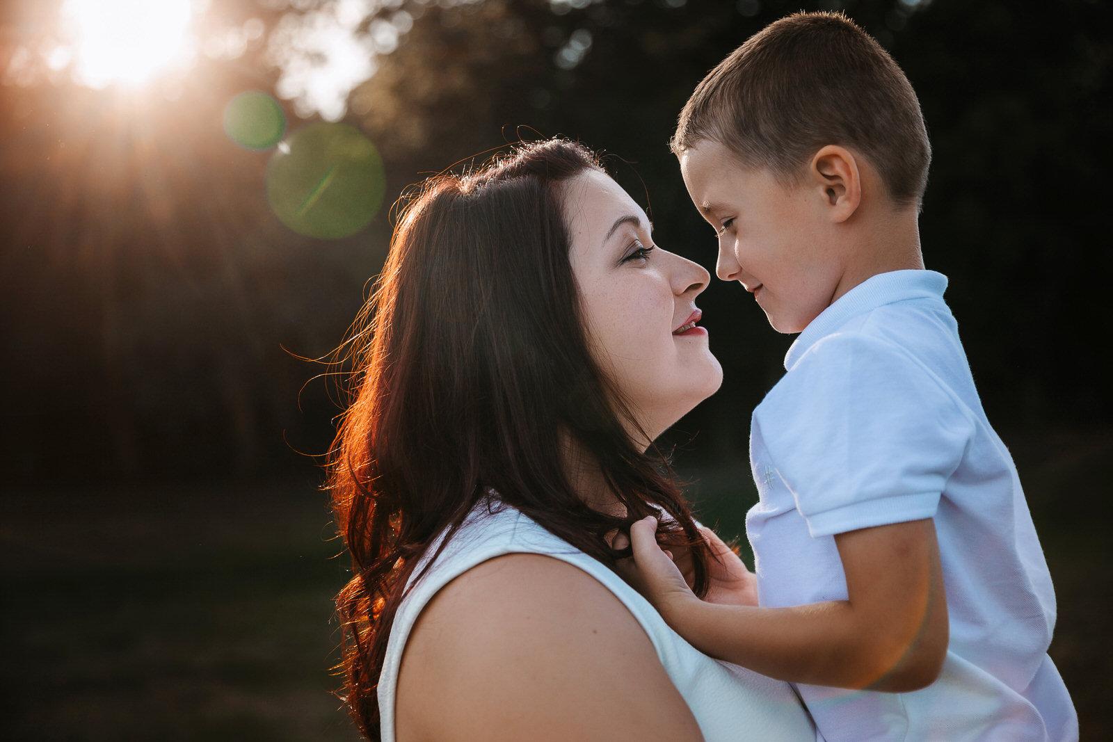 maman et son fils à lyon