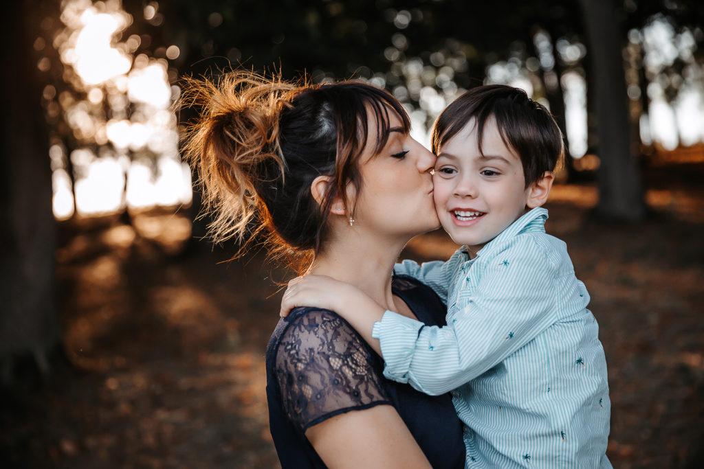 photo maman et son fils