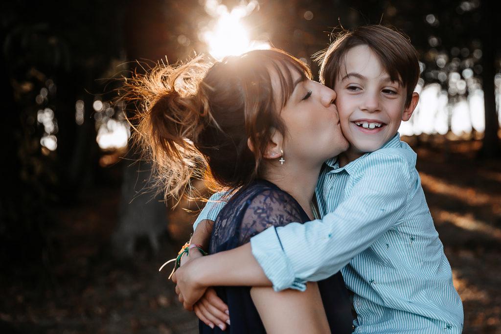 maman et son fils à mâcon